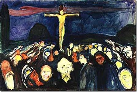 Edward Munch - Gólgota
