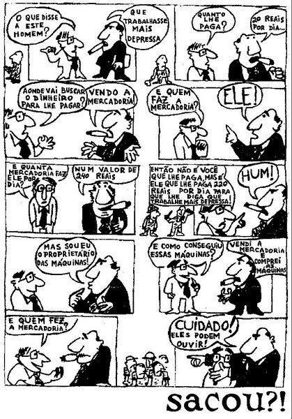 Marx em dez quadrinhos